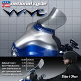 Pare brise National Cycle Inc - Wave - FLHT96/13 - 2 - Teinte