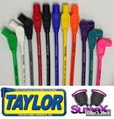 Fils de bougieS UNIVERSEL - Taylor / Sumax 8mm - Spiro Pro Core - Rouge - 180°