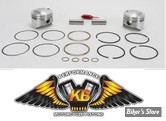 ECLATE G - PIECE N° 20 - Kit pistons Keith Black (KB) - BigTwin Shovelhead 79/84 - 8.0:1 - +0.040