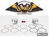 ECLATE G - PIECE N° 19 - Kit pistons Keith Black (KB) - BigTwin Evolution 84/99 1340cc - 8.5:1 - +0.020