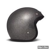 CASQUE JET - DMD - VINTAGE - GLITTER BLACK - COULEUR : NOIR PAILLETTE - TAILLE 5 / XL