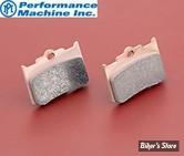 Plaquettes pour Etriers Performance Machine - 125 x 4R et 137 x 4B - Sintered - PM