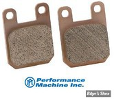 Plaquettes pour Etriers Performance Machine - PM 125 x 2 - 125 x 4SL - 125 x 4S - 0052-1601DR - PM