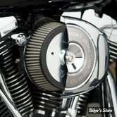 - FILTRE A AIR - ARLEN NESS - BIG SUCKER AIR FILTER KIT - STAGE 1 - TOURING 02/07 / SOFTAIL 01/15 / DYNA 04/17 / TWINCAM CARBU CV 99/06 - Filtre SYNTHETIQUE - Plaque chrome - 50-515
