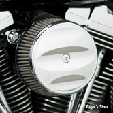 - FILTRE A AIR - ARLEN NESS - BIG SUCKER AIR FILTER KIT AVEC COUVERCLE - STAGE 1 - TOURING 02/07 / SOFTAIL 01/15 / DYNA 04/17 / TWINCAM CARBU CV 99/06 - FILTRE SYNTHETIQUE - SCALLOPED CHROME - 50-860