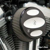 - FILTRE A AIR - ARLEN NESS - STAGE 1 - SPORTSTER 88UP - BIG SUCKER™ STAGE I AIR CLEANER KIT - FILTRE INOX - AVEC COUVERCLE BILLET - SCALLOPED NOIR - 50-866