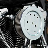 - filtre a air A.Ness - BT93/99 - Stage 2 - Filtre Inox - Plaque noire - 18-577 / 50-577
