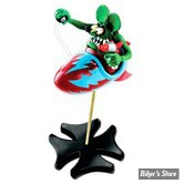 FIGURINE - RAT FINK - IN ROCKET