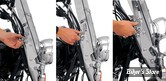 A / Kit de montage Trigger-Lock Memphis Fats/Slim et Sportshields, sans outil.