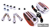 Clignos Marker Lights - Curved Back - 5/16 - Chrome