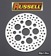 """DISQUE ARRIERE - 84/99 - 292MM / 11.5""""- Russel - SATIN"""