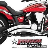 Echappement Freedom Performance - Sharp Curve Radius - Chrome - MK00001
