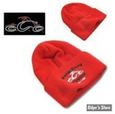 BONNET - ORANGE COUNTY CHOPPERS - OCC - COULEUR : ROUGE - TAILLE UNIQUE