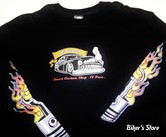 TEE-SHIRT - SPEED COWBOY - HOT ROD PROD - LEADSLEDS - COULEUR : NOIR - TAILLE : 4 / L