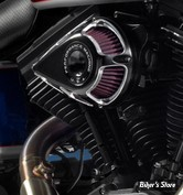 - FILTRE A AIR - PERFORMANCE MACHINE - TOURING 08/16 / SOFTAIL 16/17 / DYNA FXDLS 16/17 - JET - CONTRAST CUT