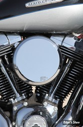 - FILTRE A AIR - K&N - TOURING 08/16 / SOFTAIL 16/17 / DYNA FXDLS 16/17 - STREET METAL - WELD - CHROME