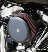 - FILTRE A AIR - K&N -  MILWAUKEE EIGHT TOURING 17UP / SOFTAIL 18UP - K&N STREET METAL HIGH-FLOW AIR INTAKE HAMMER - NOIR - RK-3954B