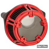 - FILTRE A AIR - ARLEN NESS - SPORTSTER 91UP - NESS METHOD CLEAR SERIES AIR CLEANER - CONTRAST CUT - ARLEN NESS ANODIZED COLLECTION - ROUGE - 18-173