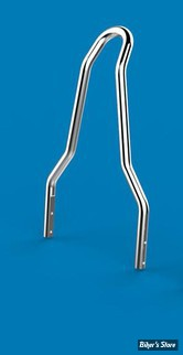 "SISSY BAR KHROME WERKS - ROUND - Largeur 9 7/8"" - CHROME - 263614"