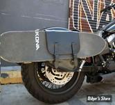 SACOCHE NASH MOTORYCLES- SKATE SACK - UNIVERSEL - CUIR NOIR
