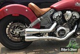 SILENCIEUX TRASK - SLIP-ON INDIAN SCOUT - CHROME