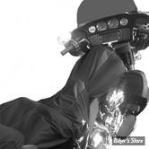 COUVERTURE DE RESERVOIR & SELLE - TOURING HD 2014UP - BIKESHEATH - COULEUR : NOIR / GRIS