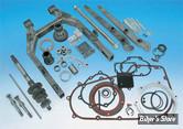 250 - Kit pneu large Dyna 06/11 240/250 avec bras oscillant et sabres brut