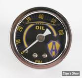 Kit Mano de pression d huile Arlen Ness : Manomêtre de remplacement.
