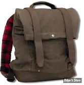 SAC BURLY BRAND - BURLY VOYAGER BACK PACK - SAC A DOS - DARK OAK - B15-1020D