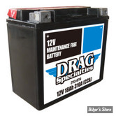 BATTERIE - 65991-82B - DRAG SPECIALTIES - MAINTENANCE FREE - AGM / GEL