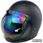 BILTWELL - VISIERE POUR CASQUE JET OPEN FACE 3/4 - BUBBLE SHIELD - COULEUR : MIRROR RAINBOW / ANTI-BUEE