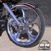 GARDE BOUE AVANT CUSTOM - TOURING 14UP - PAUL YAFFE'S - THICKY FRONT FENDER - 26""