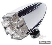 CLIGNOTANT A LEDS - MALTESE - VERSION LONGUE - LED - CHROME