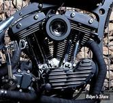 FILTRE A AIR SANS MONTAGE - EMD ESTEVES MOTORCYCLE DESIGN - VORTEX RACING - FINITION : BLACK CUT