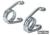 "RESSORT EPINGLE - 3.5"" - CHROME - HEAVY DUTY - LA PAIRE"