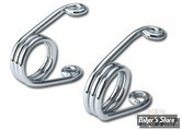 "RESSORT EPINGLE - 2"" - CHROME - HEAVY DUTY - LA PAIRE"