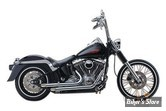 "ECHAPPEMENT SANTEE - DRAG PIPES - SOFTAIL 12UP- 2 1/4"" - NOIR"
