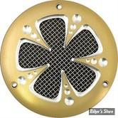 CACHE ALLUMAGE - BIG TWIN 70/99 - FRED KODLIN - MESH - FINITION : GOLD