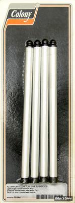 """TIGES DE CULBUTEURS - KNUCKLEHEAD 36/47 (1000CC) 61"""" - ALUMINIUM"""
