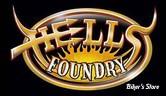 DASHLINK INTEGRE AU RESERVOIR - Hell's Foundry - FLHT & FLHX 96/07 - Carbone