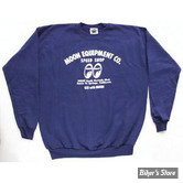 SWEAT SHIRT - MOON - MOON EQUIPMENT CO - COULEUR : NAVY - TAILLE XL