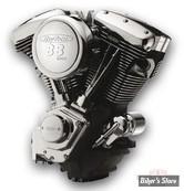 88 - Moteur complet Revtech 88 - Euro 3 - Noir Wrinkle