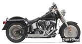 ECHAPPEMENT BASSANI - New PRO-STREET - SOFTAIL 00/17 - TURN OUT / CHROME