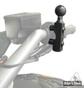 Support de Telephone / GPS - RAM MOUNTS - A / SUPPORT U ET/OU COMMODO GUIDON AVEC BOULE B - NOIR