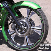 GARDE BOUE AVANT CUSTOM - TOURING 14UP - PAUL YAFFE'S - THICKY FRONT FENDER - 21""
