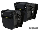 SACOCHES LATERALES - Nelson Rigg - DELUXE ADVENTURE SADDLEBAGS - ETANCHES -  NOIR