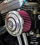 FILTRE A AIR SANS MONTAGE - TC BROS CHOPPERS - RIPPLE AIR CLEANER - KEIHN CV / INJ. DELPHI -  POLI