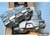 ECLATE D - PIECE N° 01 - COUVRES CULBUTEURS - TWIN CAM - ESTEVES MOTORCYCLE DESIGN EMD - SHERMAN - ALU BRUT - LA PAIRE