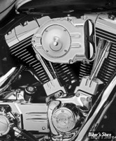 - FILTRE A AIR - KURYAKYN - HYPERCHARGER - SOFTAIL 99/15 / DYNA 99/17 / TOURING 99/07 - STANDARD - CORPS : CHROME / PAPILLONS : CHROME - 9754
