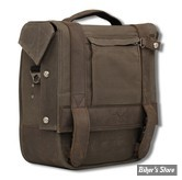 SAC BURLY BRAND - BURLY VOYAGER SINGLE SADDLEBAG - DARK OAK - B15-1000D